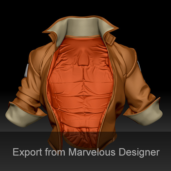 How to export from Marvelous Designer (like a boss)
