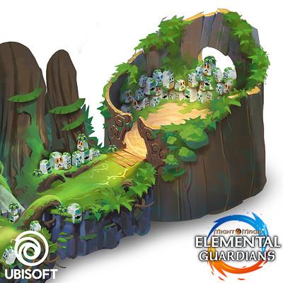 Koveck antonio garcia mystic forest artstation cover