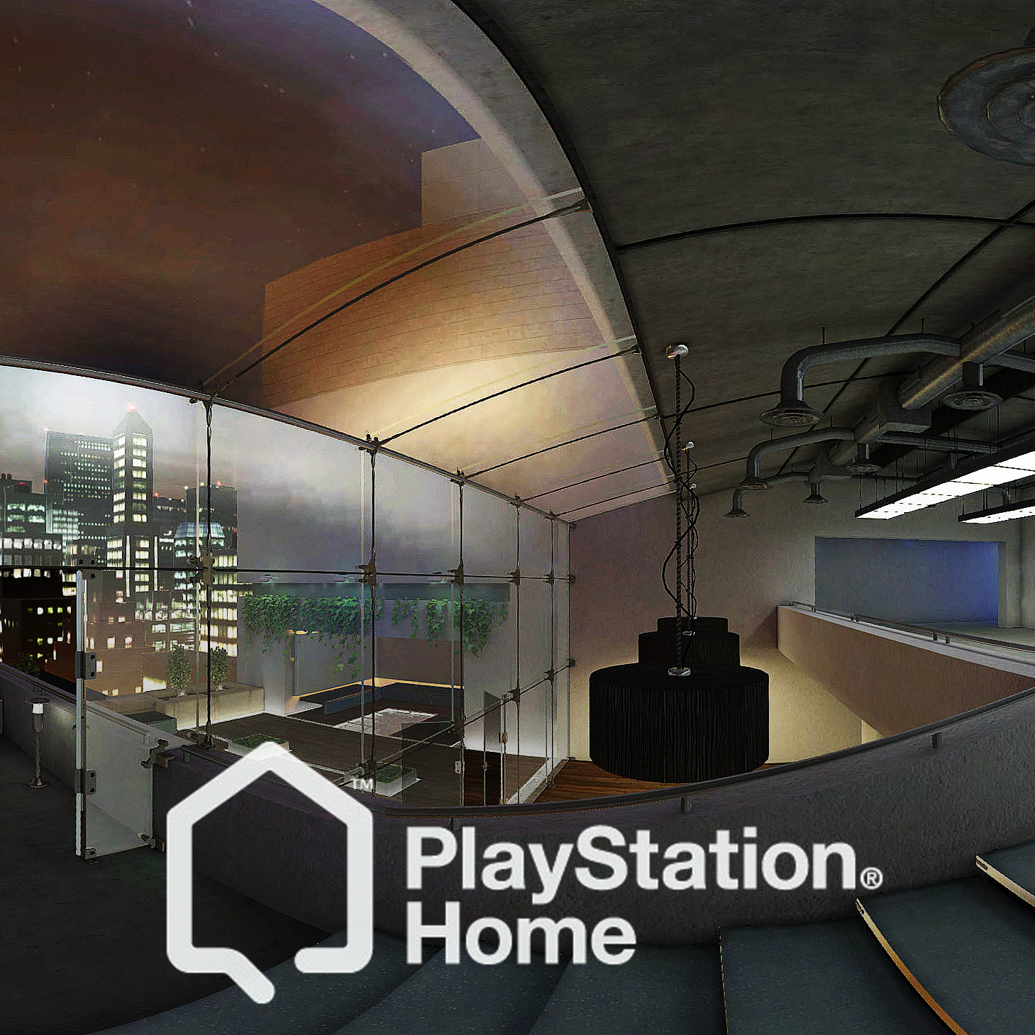 PlayStation Home: City Penthouse