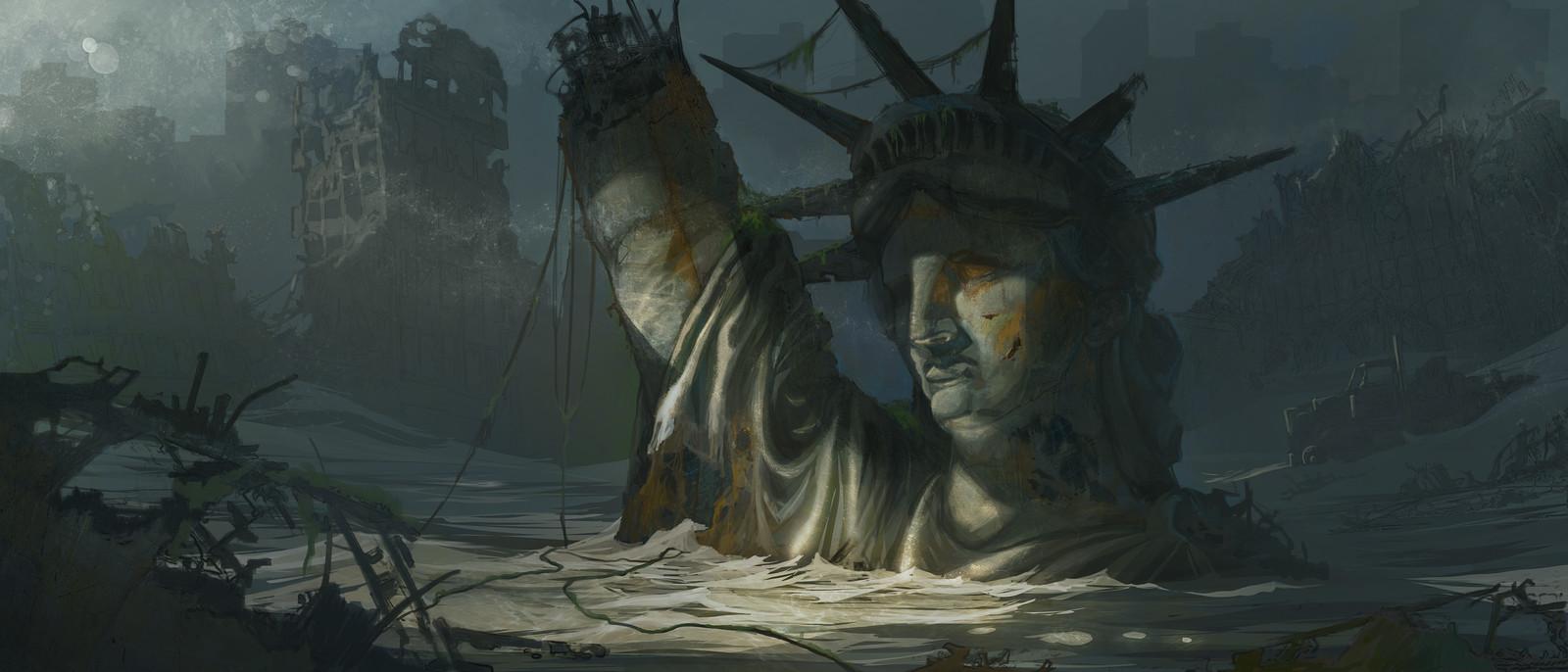 Lost Statue