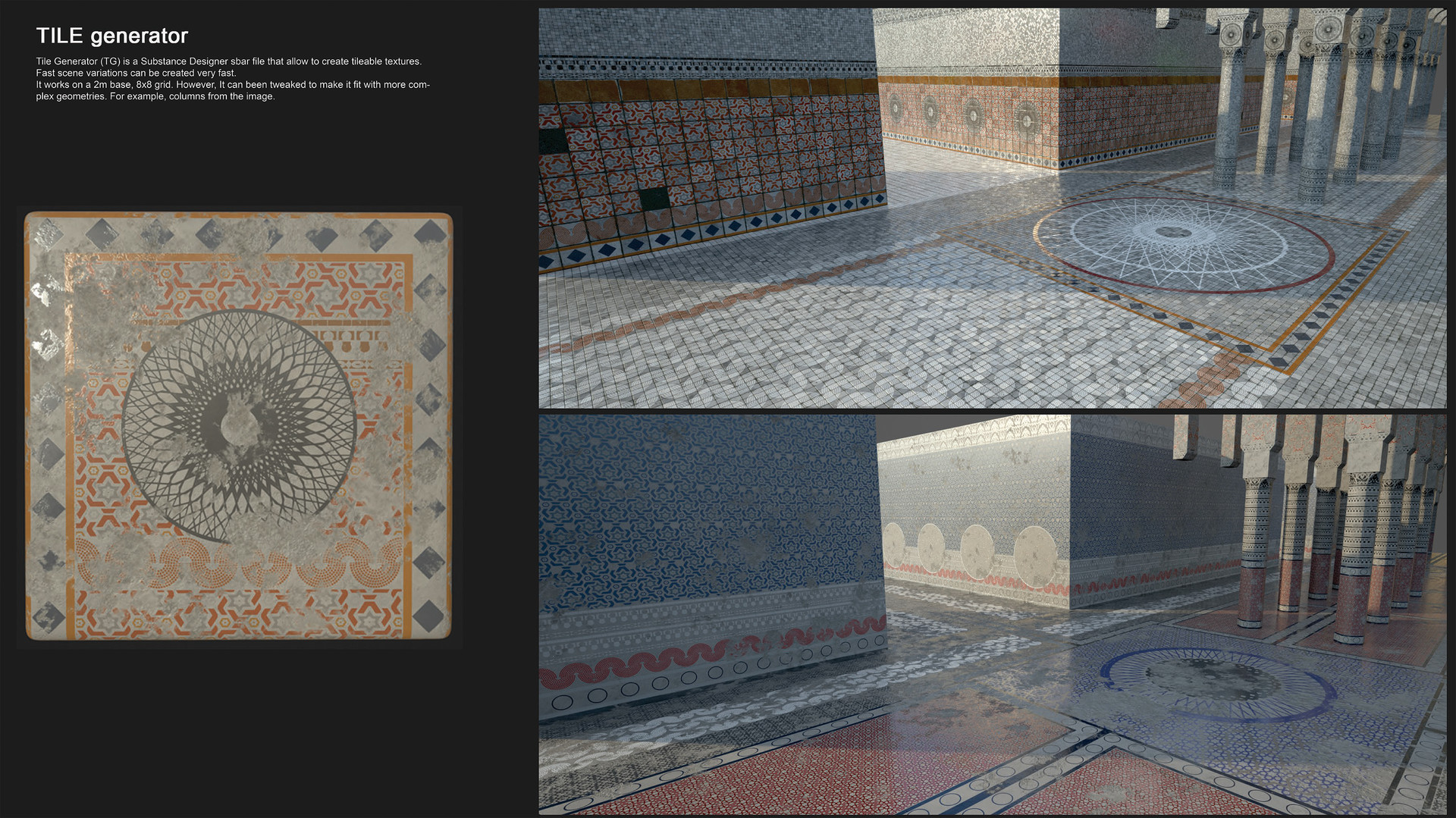 ArtStation - Tile generator, daniel diaz saez