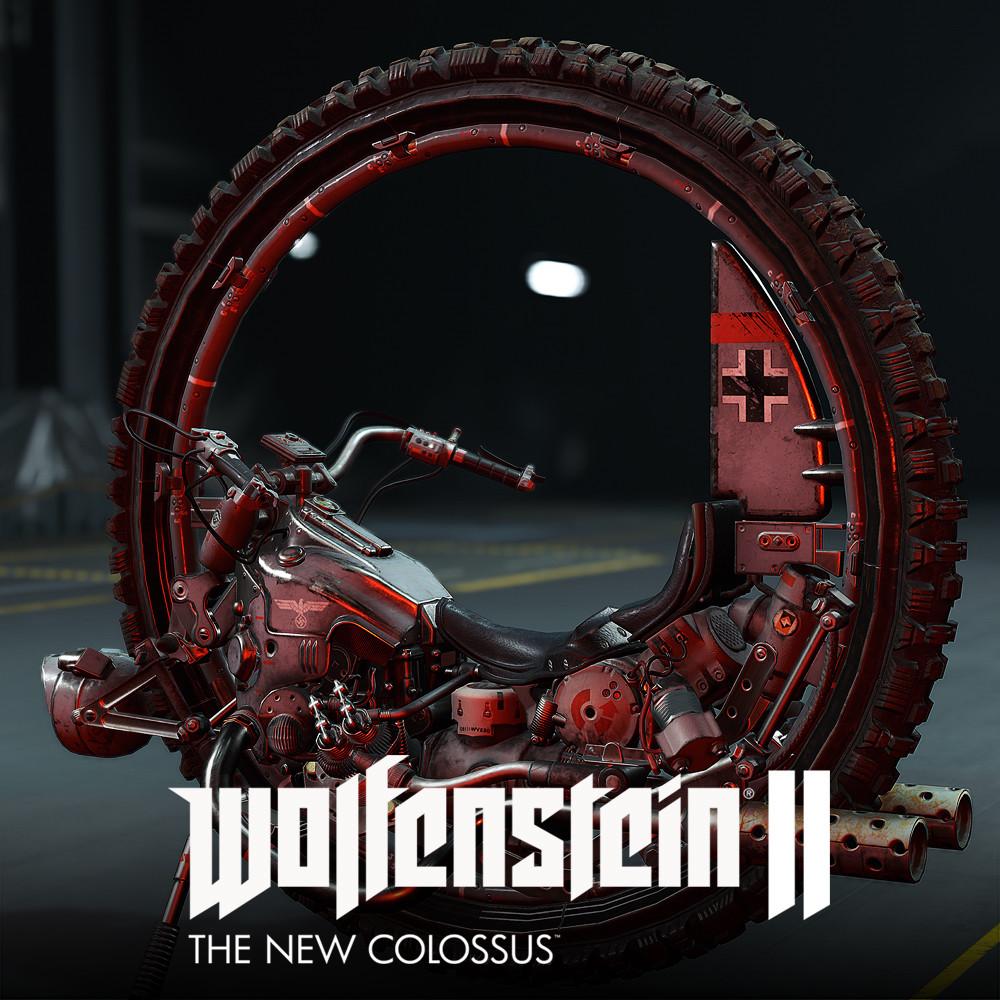 Wolfenstein 2 : Monowheel LowPoly