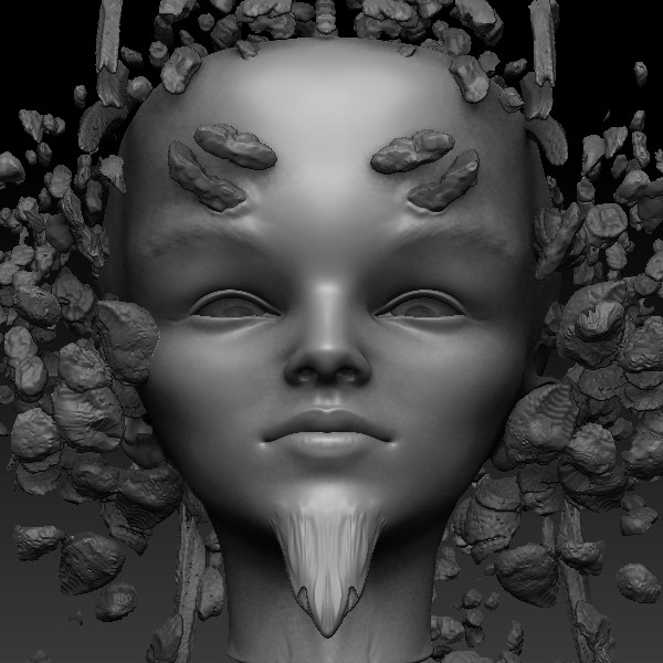 Zbrush sculpt in progress