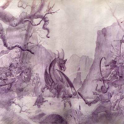 George almond battling dragon scan02