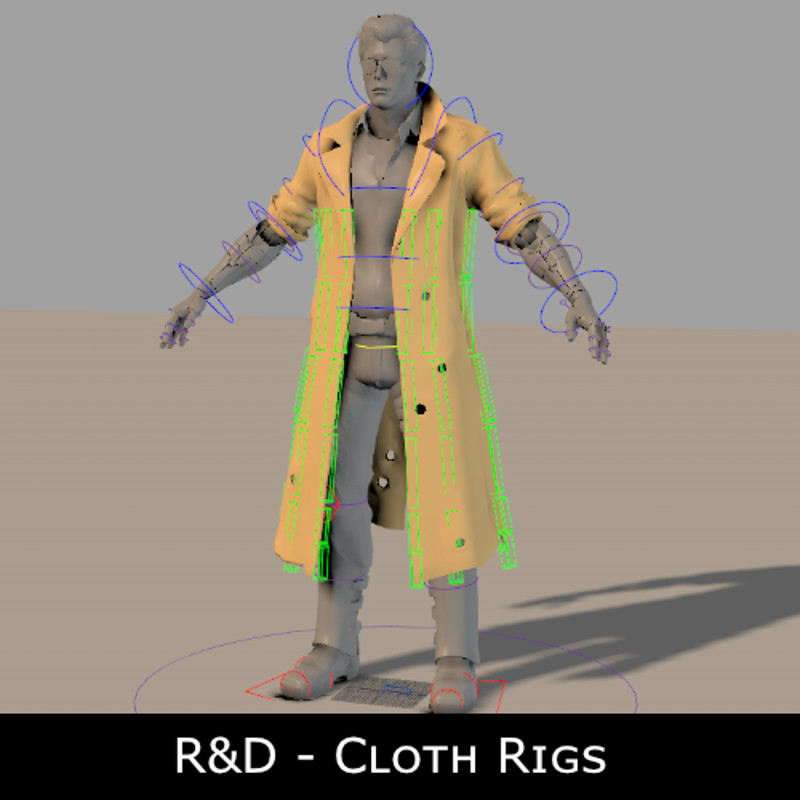 Rigging R&D - Cloth rigs