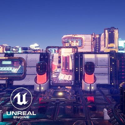 Nukers - SciFi Top Down Modular Kit and Level Design (Unreal Engine 4)