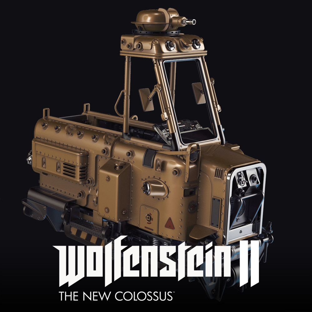 Wolfenstein 2: Security Cart