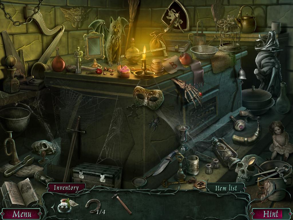 Artstation Hidden Object Crypt Natalya Dolgih
