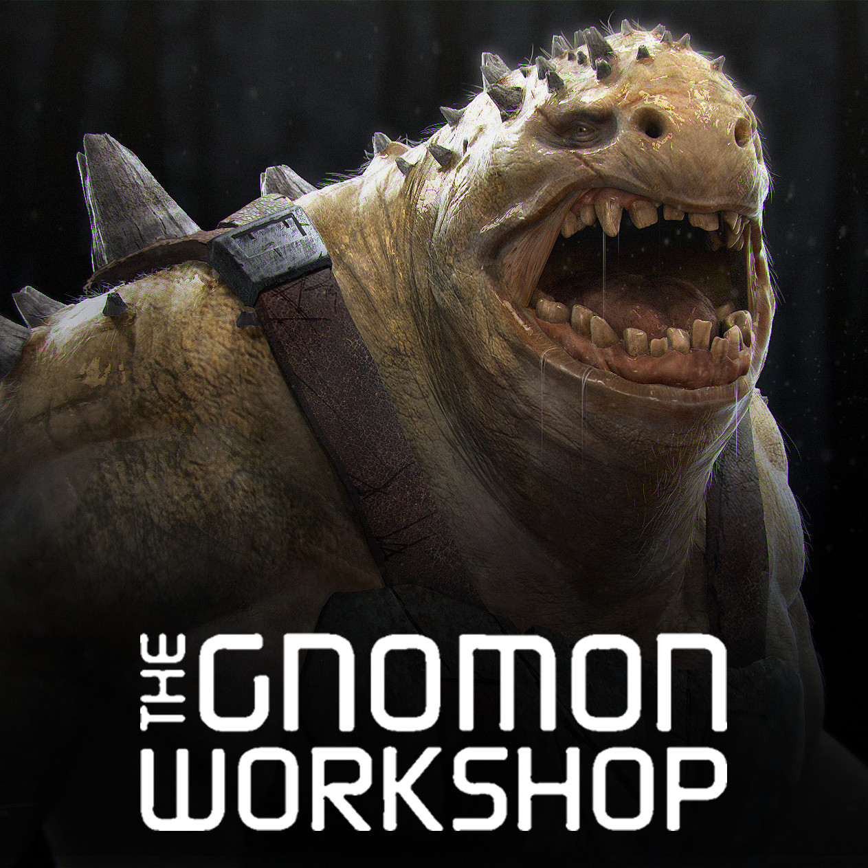 3D Creature Design Gnomon Workshop Tutorial