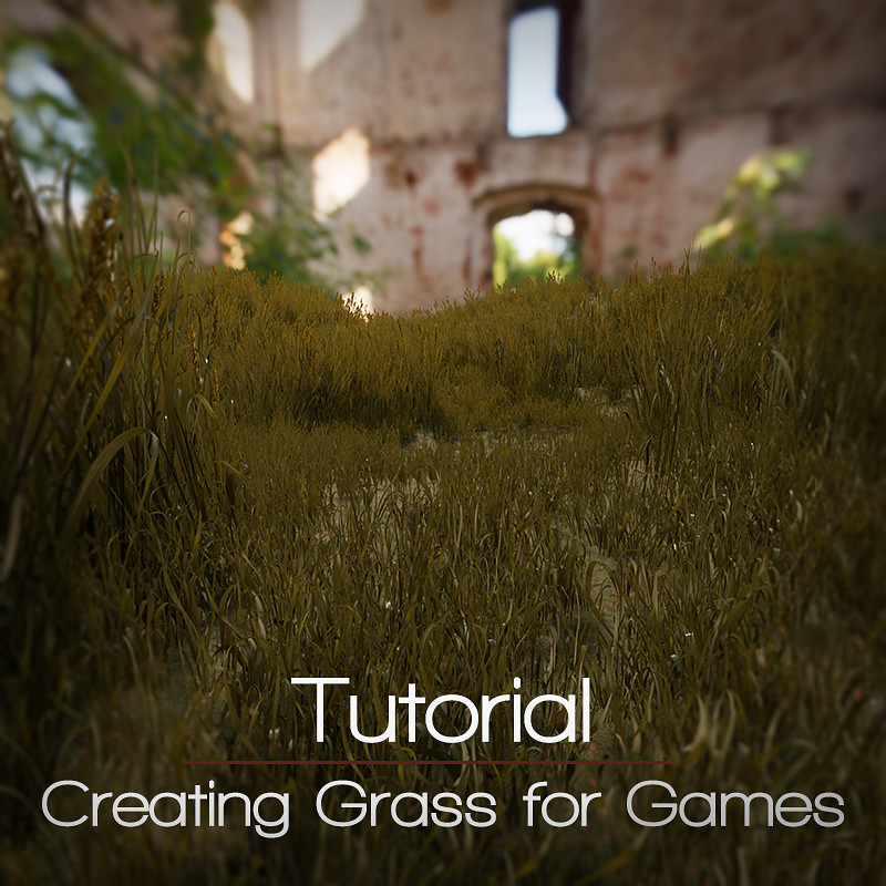 Creating grass for games - Mini tutorial