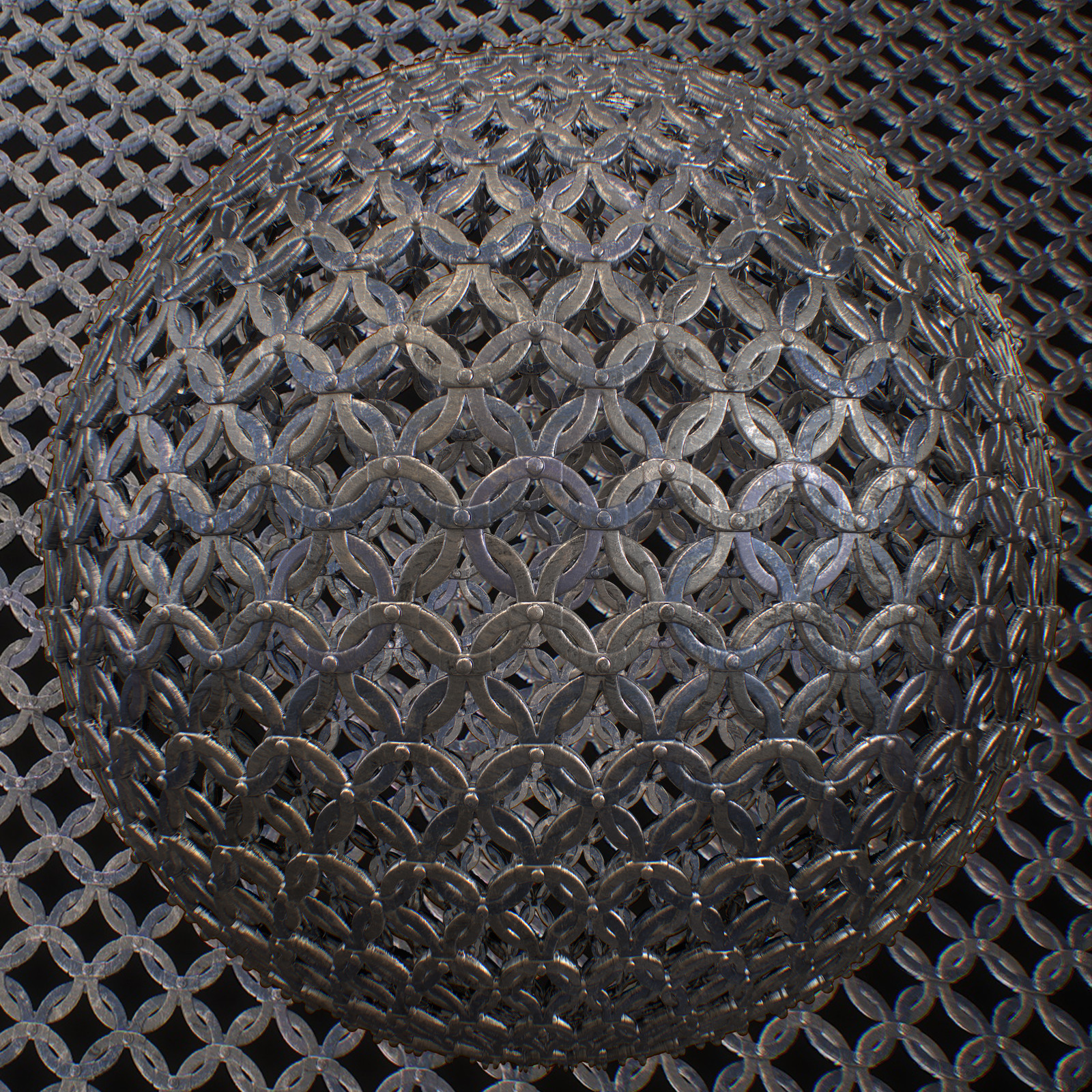 Chainmail - Substance Designer