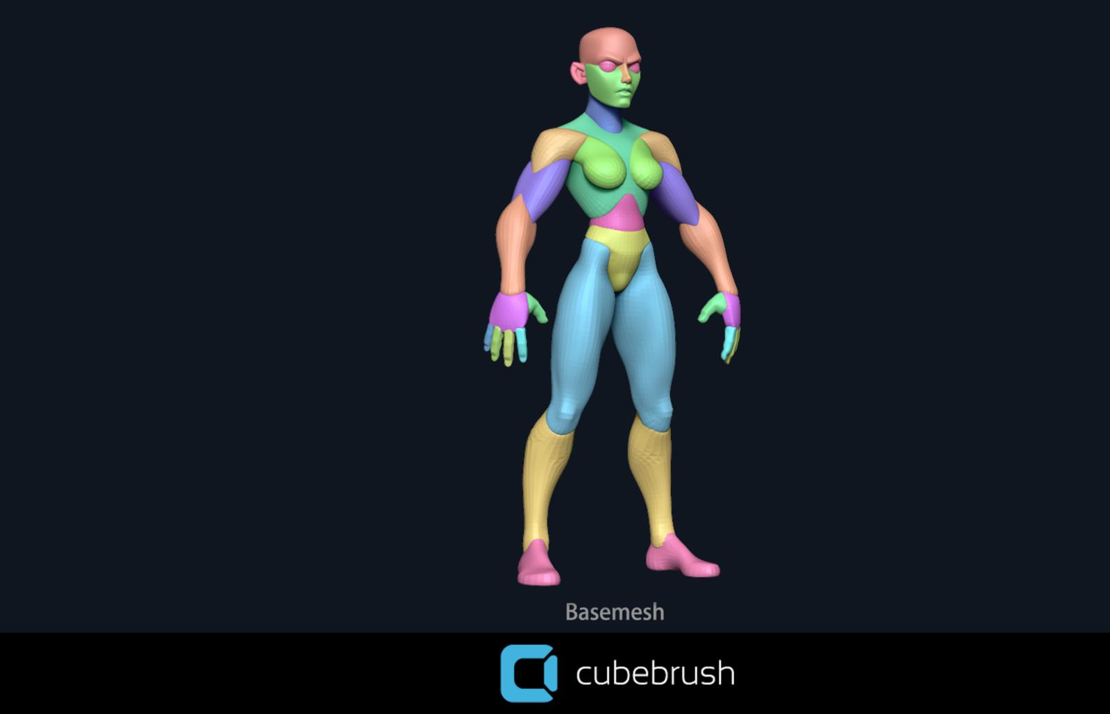 Stylized Body Basemesh