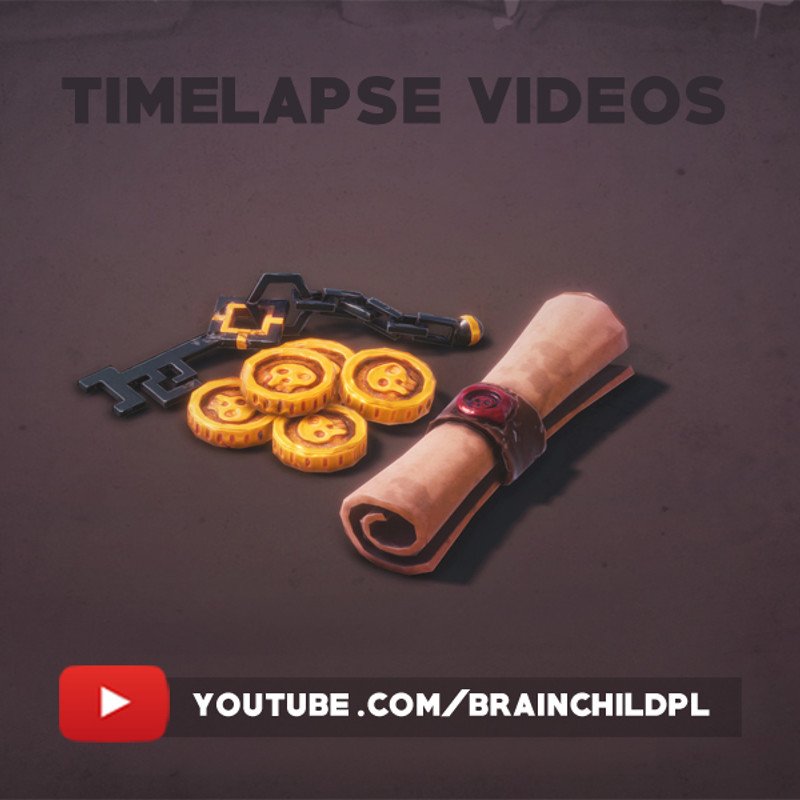 Timelapse Videos - 3d game art   PBR textures   Hand painted Textures   Stylised art