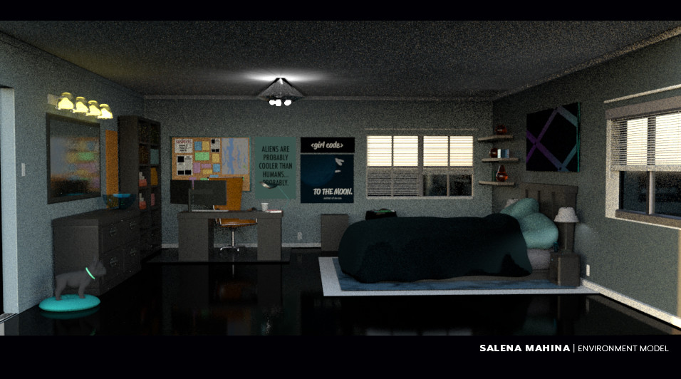 Bedroom Environment Design