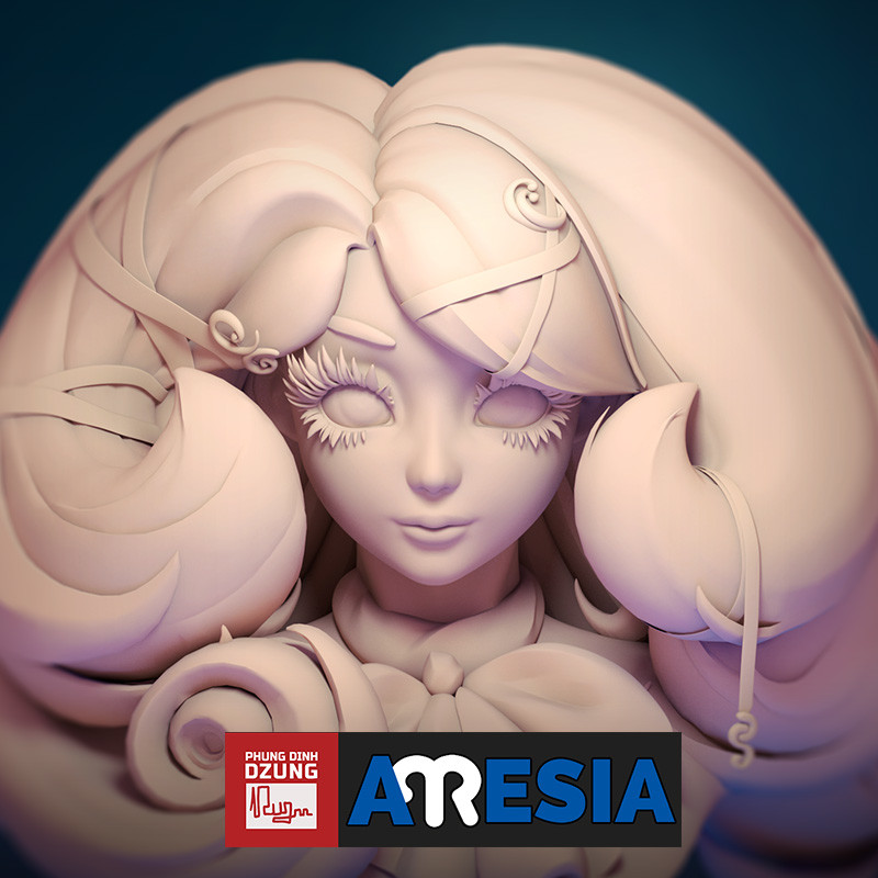 Aresia - Bust Model