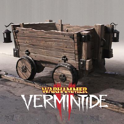 Warhammer: Vermintide 2 - Minecart