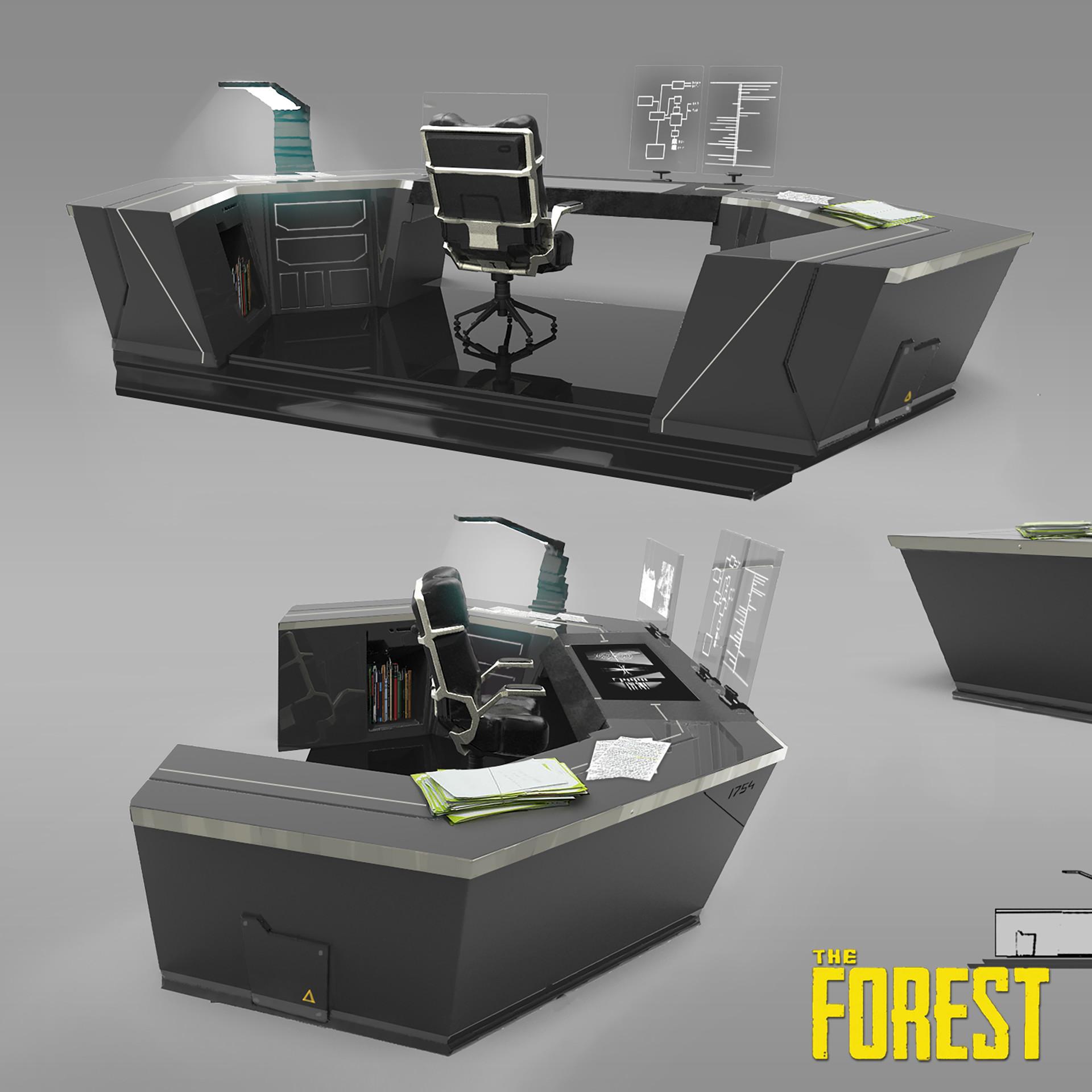 Control Room desk