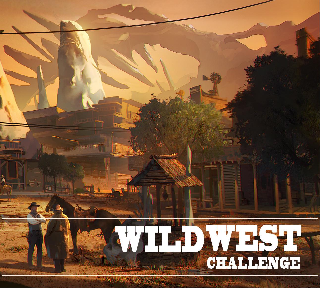 Artstation Wild West Challenge 2