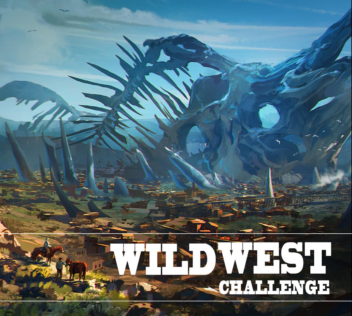 Artstation Wild West Challenge
