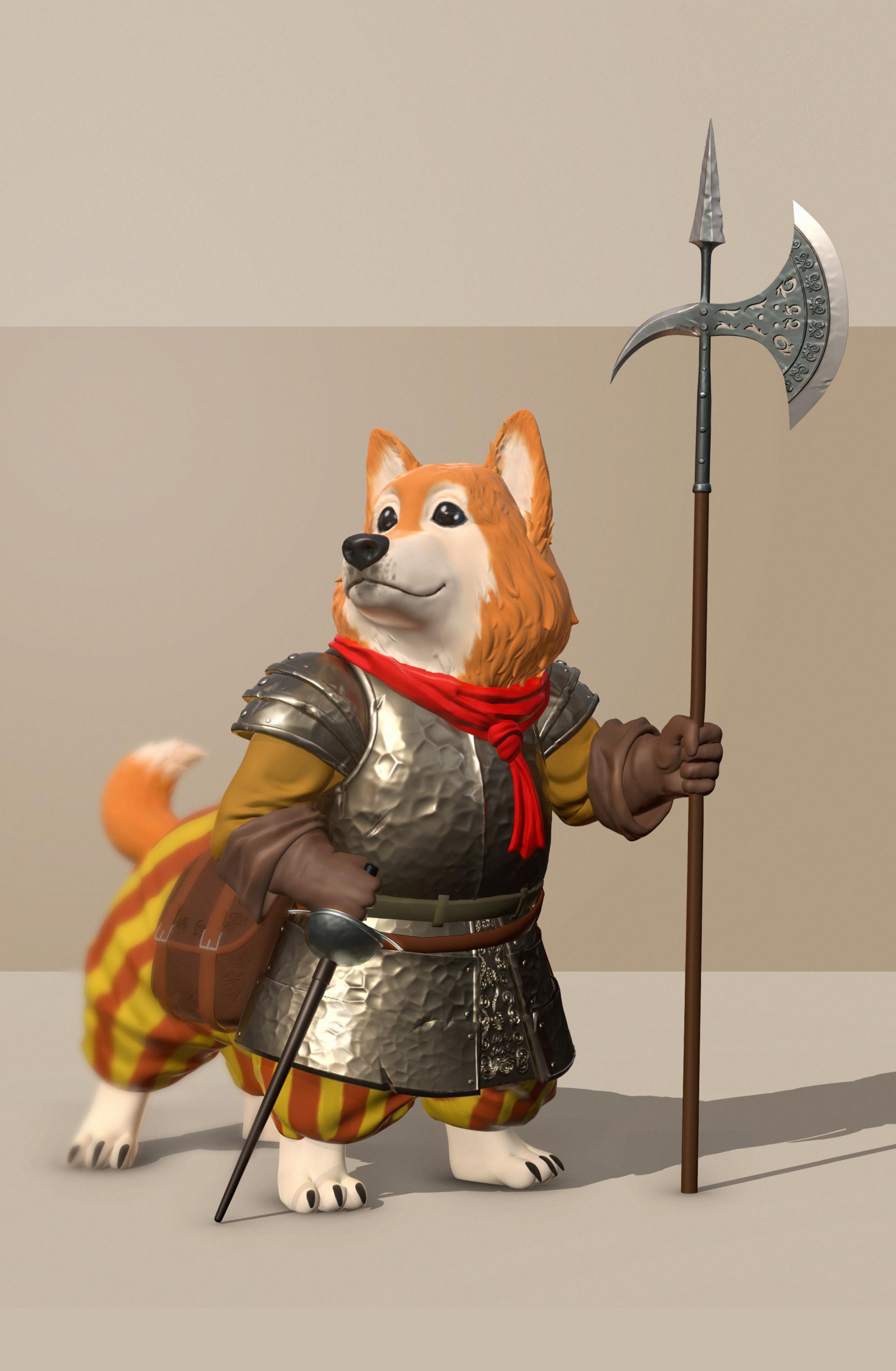 Corgi Knight| The Dogs of War