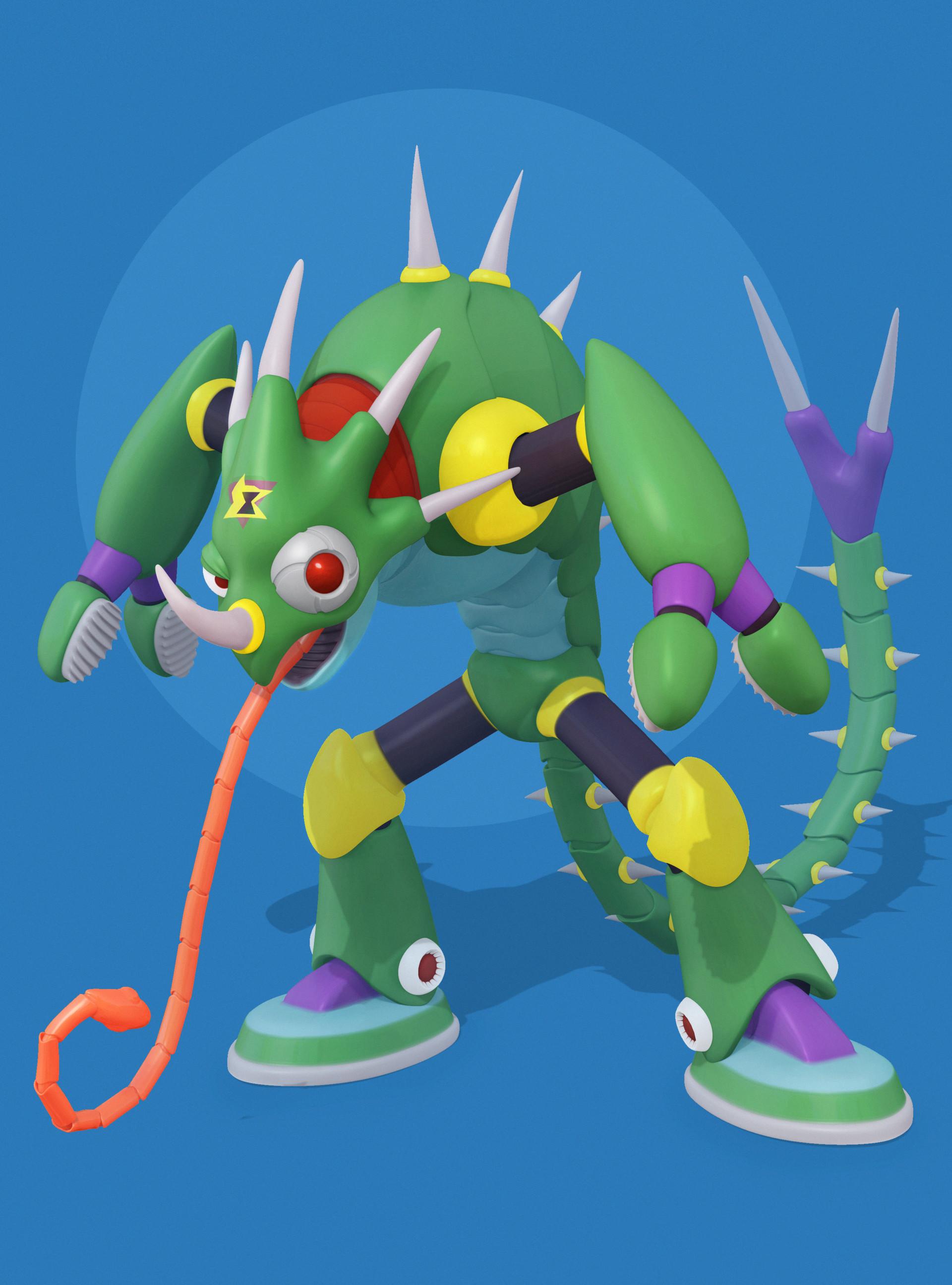 Sting Chameleon |  Mega Man X