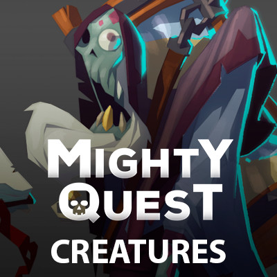 MIGHTY QUEST - Creatures