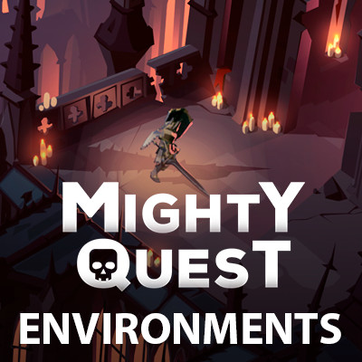MIGHTY QUEST - Environments