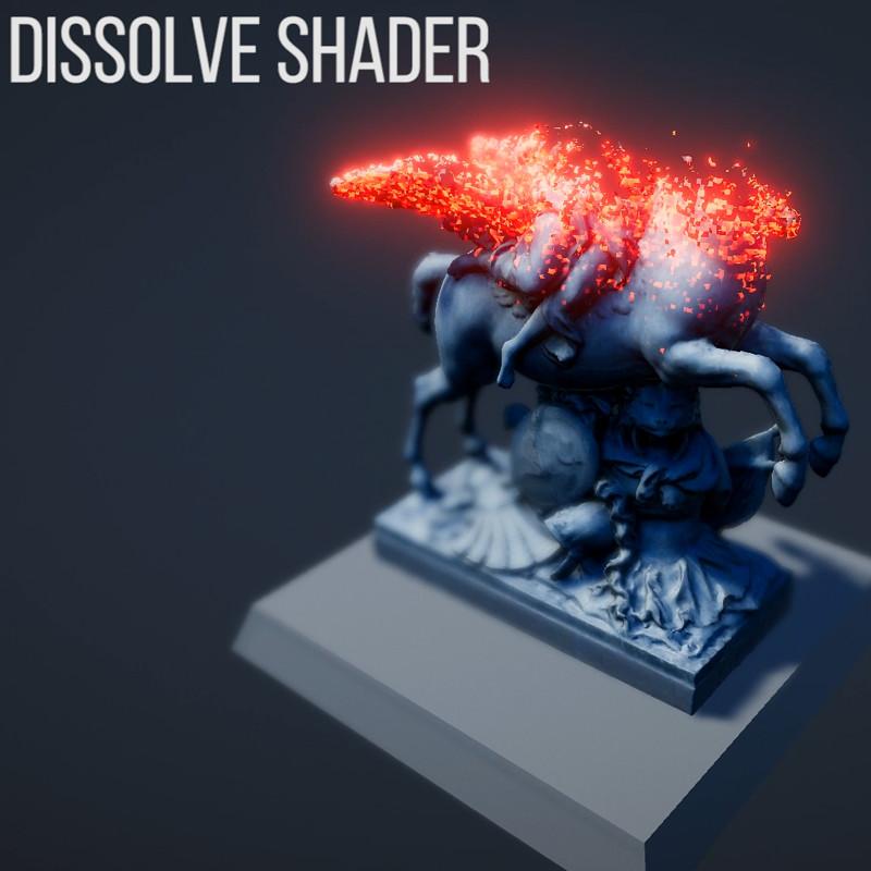 Realtime Unity Dissolve Shader