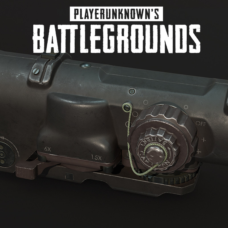 Playerunknown's Battlegrounds: Scope 6x