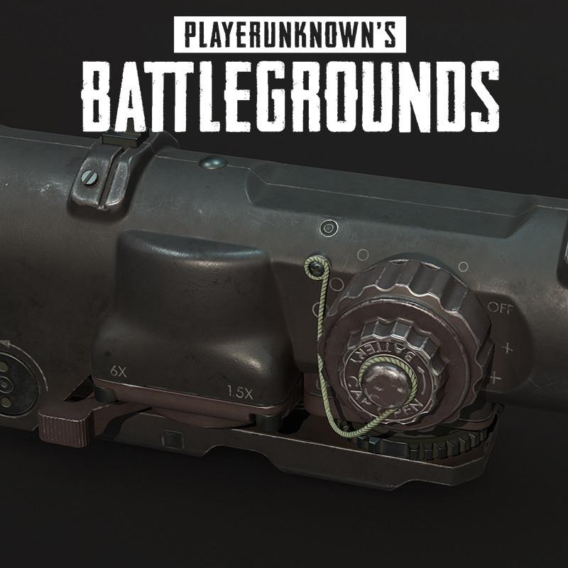 Playerunknown's Battlegrounds: Scope 6x