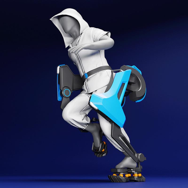 Raiden: Urban Exoskeleton