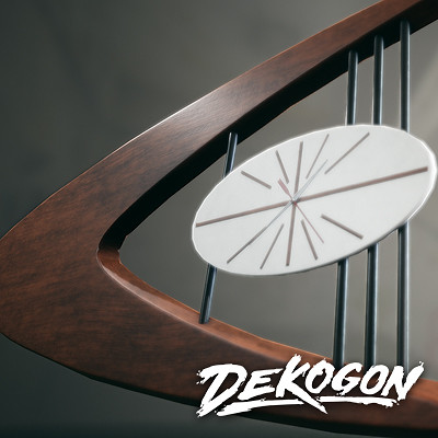 Dekogon - Retro Clock