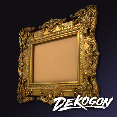 Dekogon - Antiques in the Attic - the frame