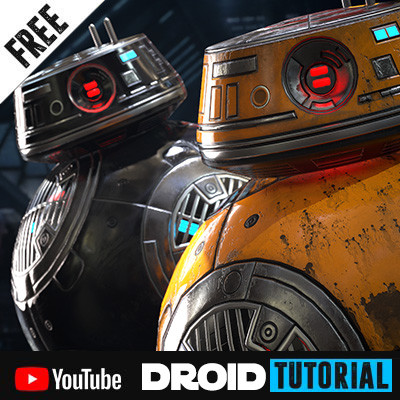 Star Wars: Droid Tutorial - 3Ds Max & Substance Painter