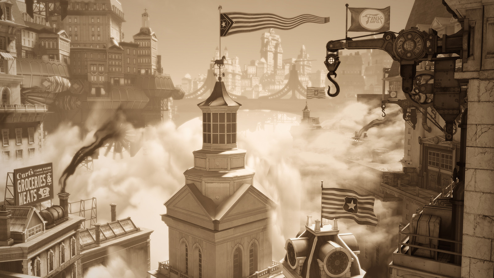 Postcards From Columbia (BioShock Infinite - Irrational Games)