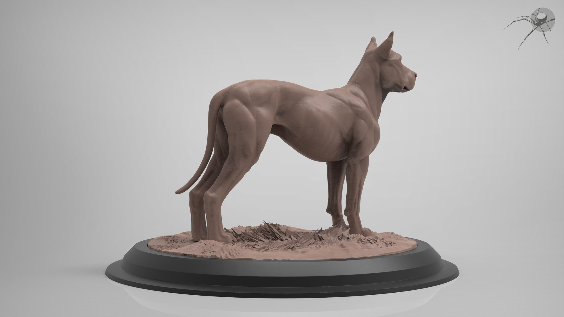 ArtStation - Canine Anatomy (Dog), Marcus Trolldenier