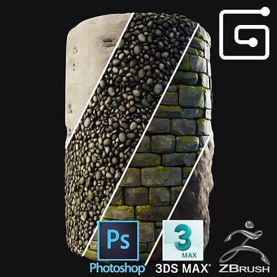 Marvin tischler handpainted textures cover