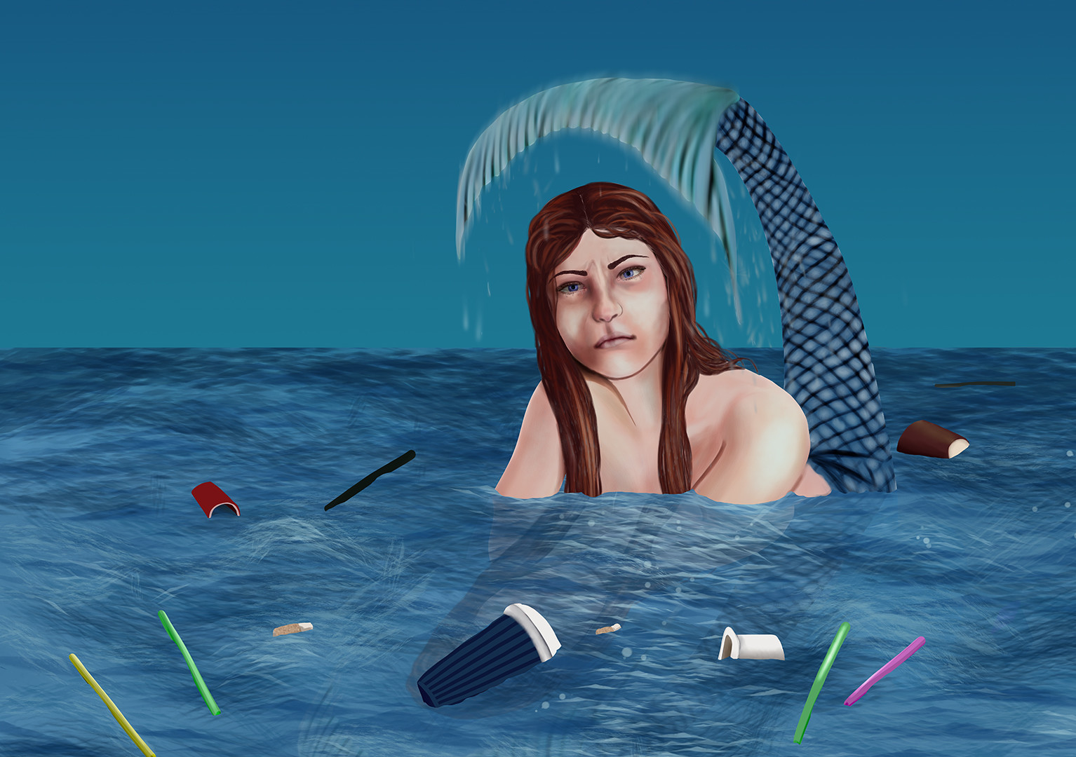 The Unhappy Mermaid