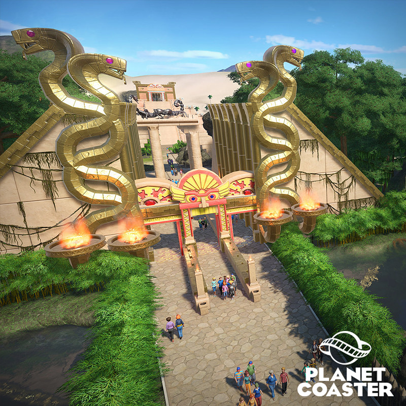 Planet Coaster - Adventure DLC