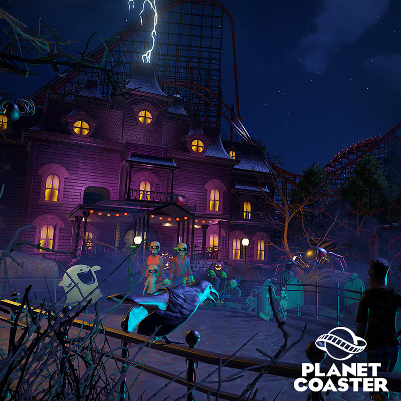 Planet Coaster - Spooky DLC