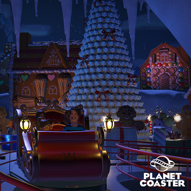 Planet Coaster - Holiday Update