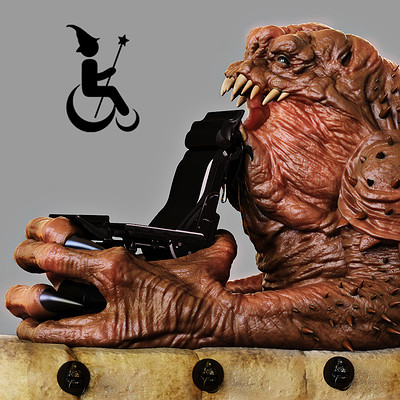 Magic Wheelchair - Rancor vs Luke