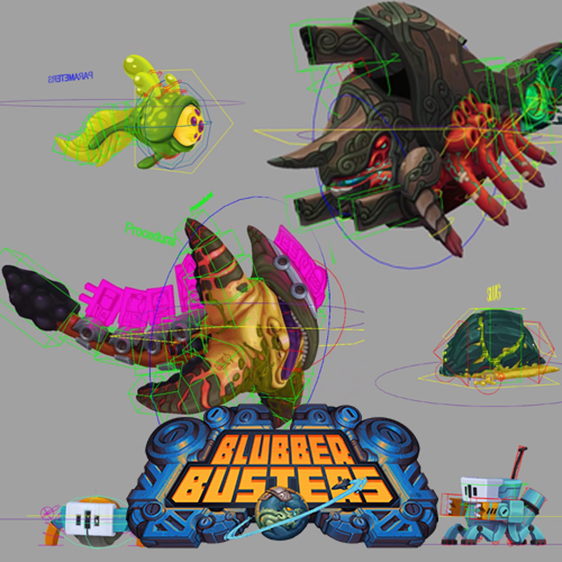 Blubber Busters - Creatures & Bots