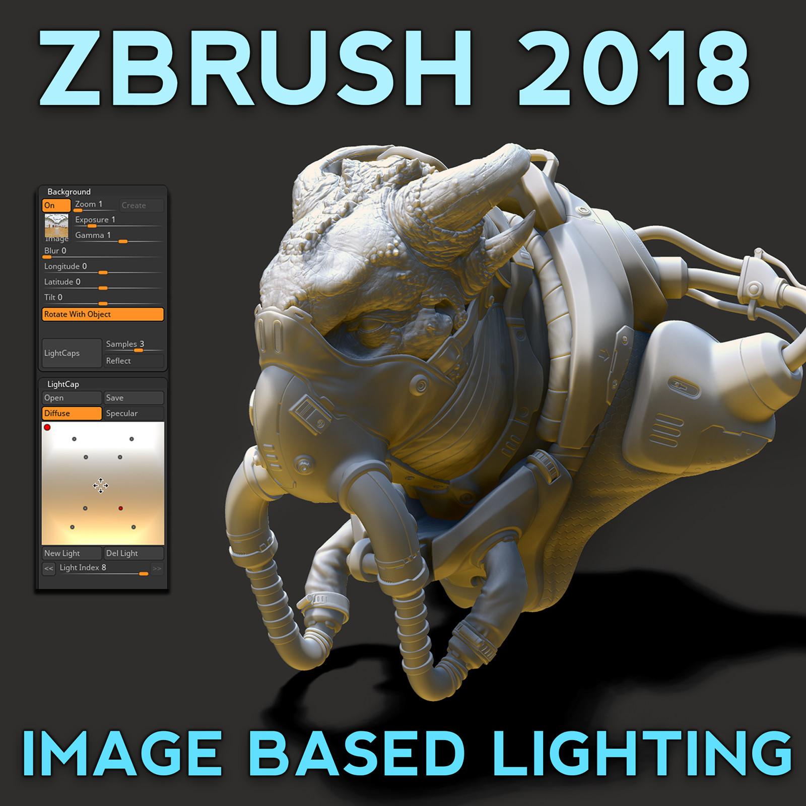 ArtStation - ZBrush Image Based Lighting, Michael Pavlovich