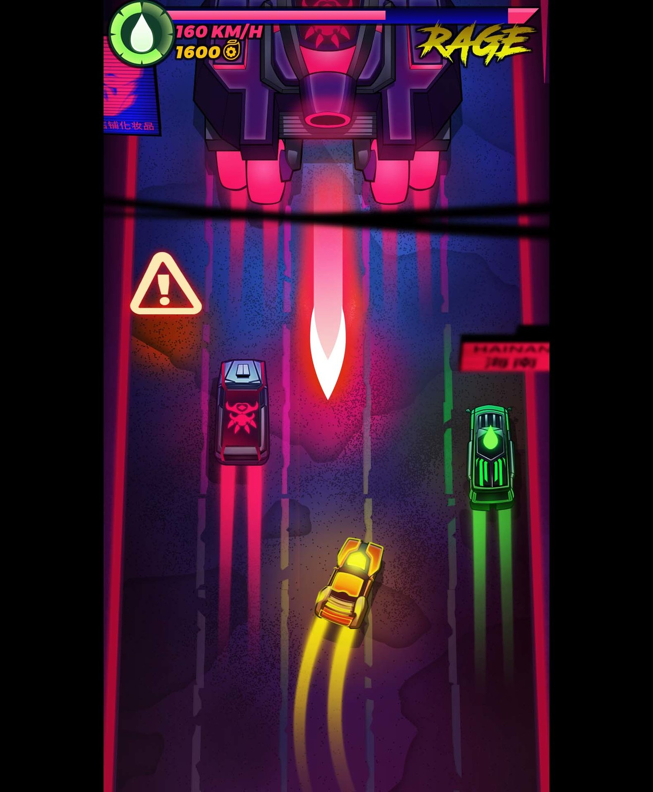 Art Design and Prototypes of a Racing Game.