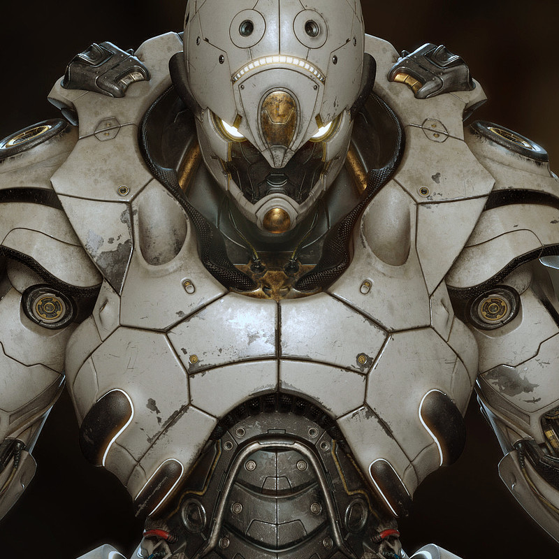 Mech メカ Leviathan Sentinel