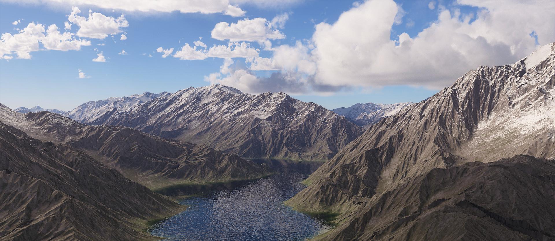 ArtStation - Terragen 4 Mountains, Slawomir Wawrzkowicz