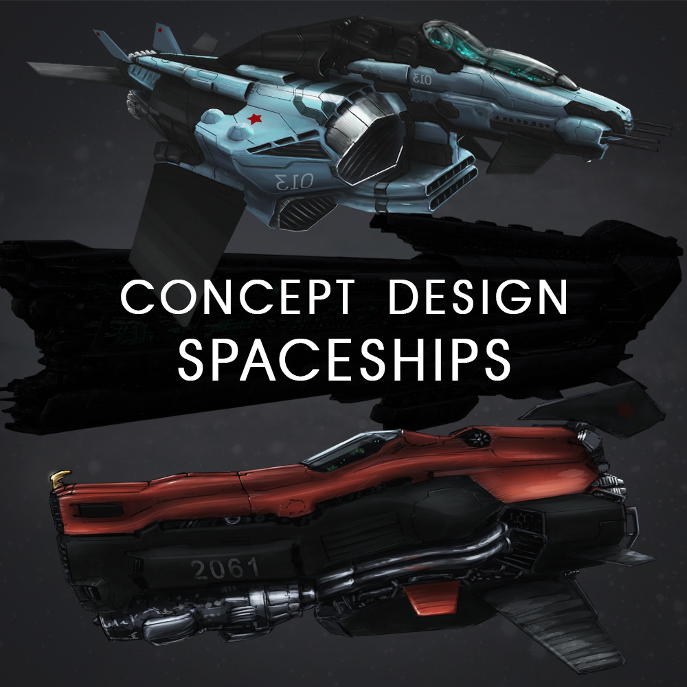 Concept Design of Spaceships