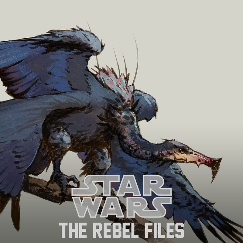 Star Wars: The Rebel Files - creatures