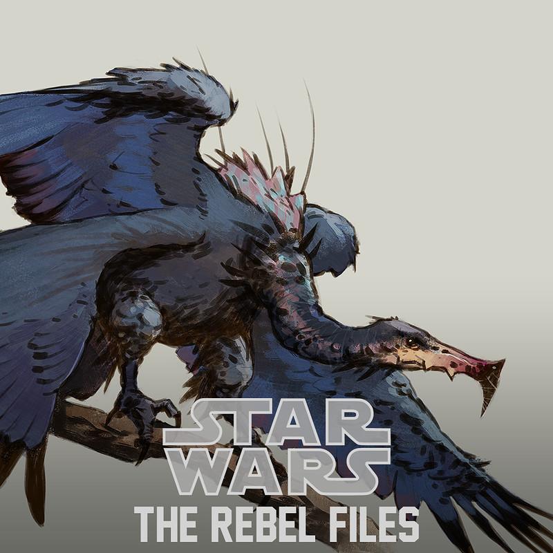 Star Wars: The Rebel Files - creatures